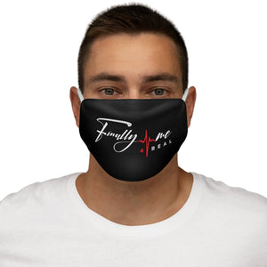 FM4R Black Snug-Fit Polyester Face Mask