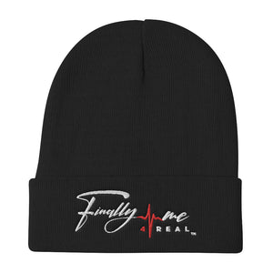 Finally Me Embroidered Beanie