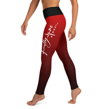 Load image into Gallery viewer, Red Finally Me 4 Real Yoga Leggings