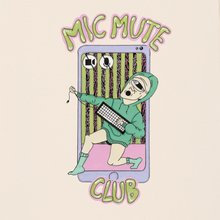 "Lade das Bild in den Galerie-Viewer, ""Mic Mute Club"" shirt"