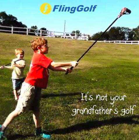 It's not your grandfather's golf