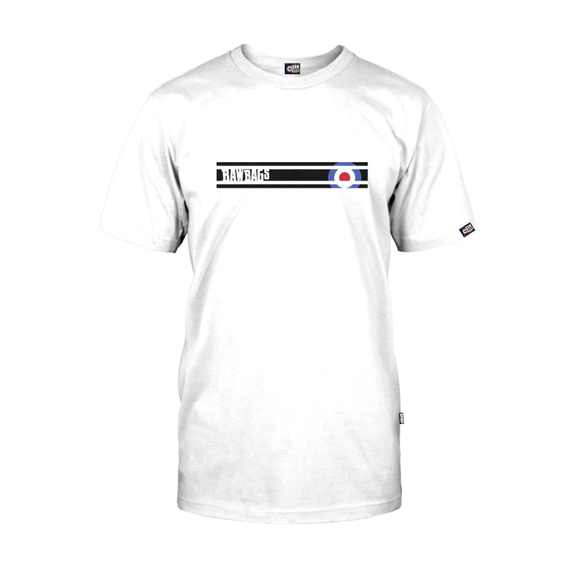 Mod Lines Tee - White
