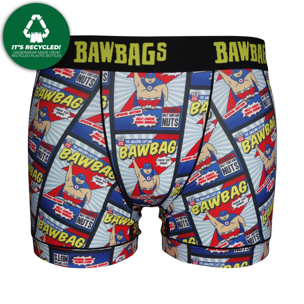 Kids Cool De Sacs New Hero Technical Boxer Shorts