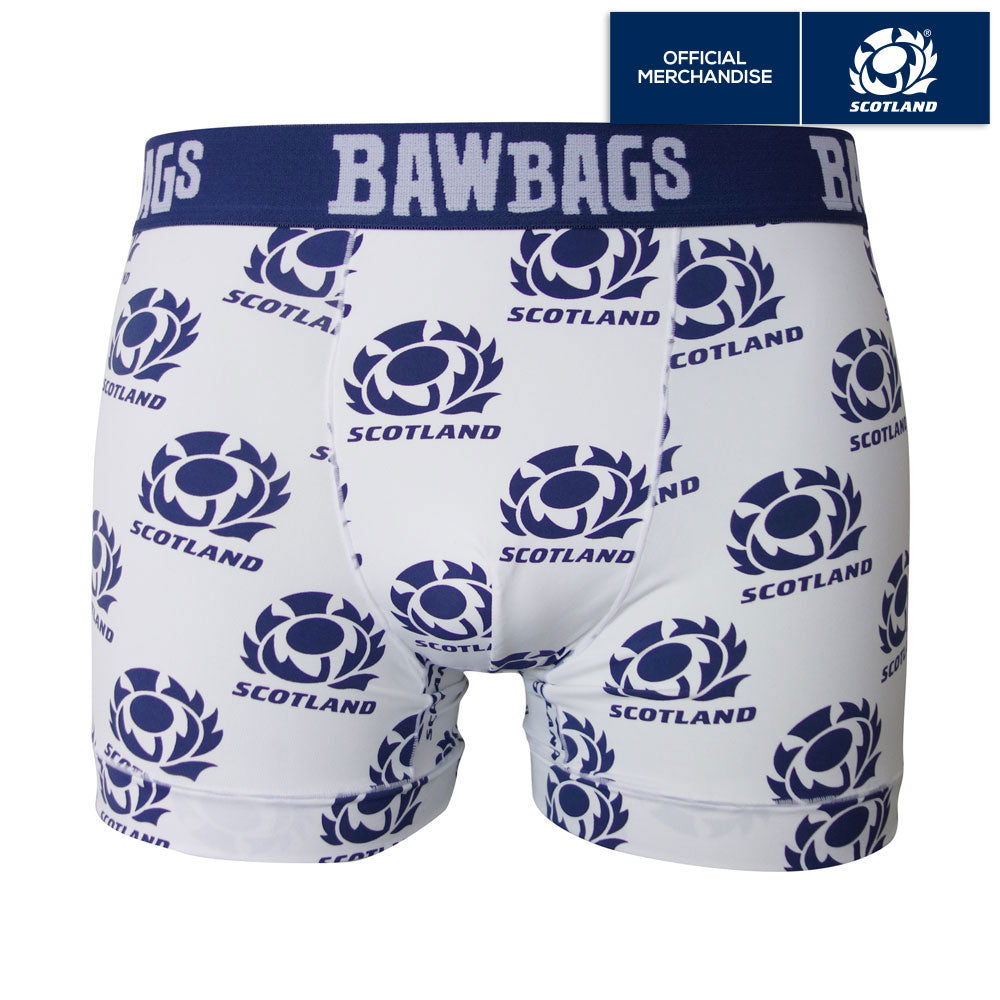 Cool De Sacs Scotland Rugby Away Technical Boxer Shorts