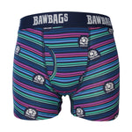 Scotland Rugby Lines Cotton Boxer Shorts