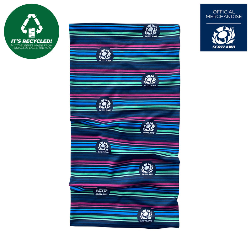 Scotland Rugby Lines Multi Sleeve Snood