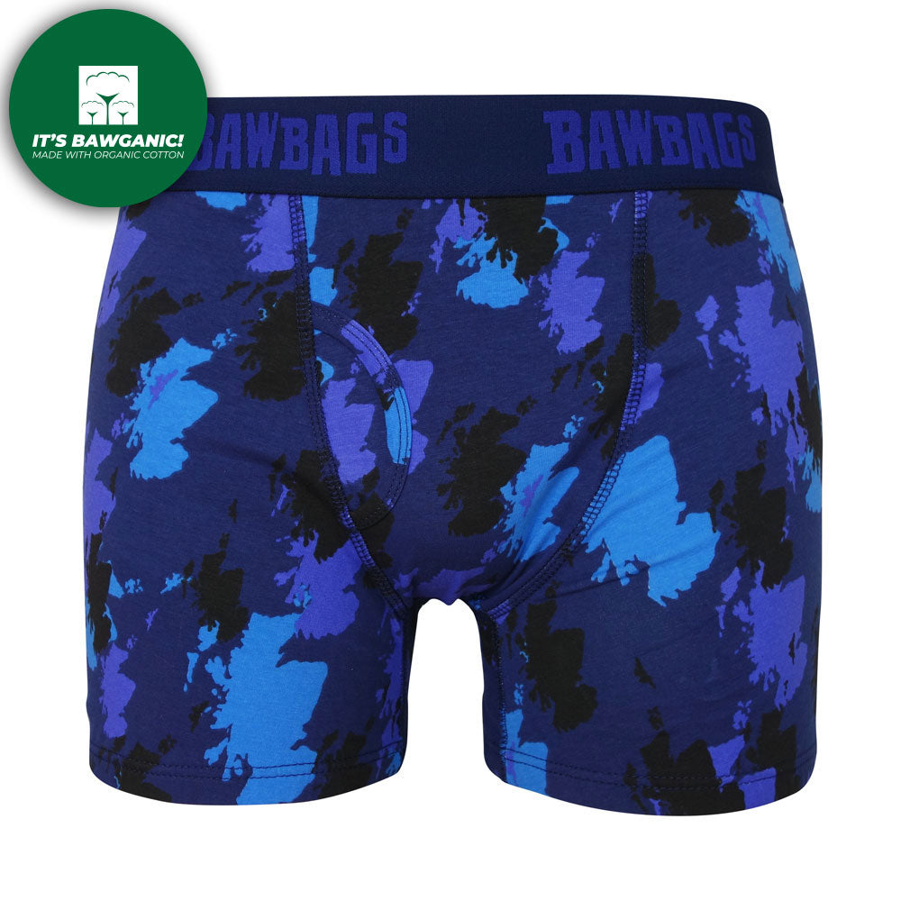 Scotland Camo Cotton Boxer Shorts
