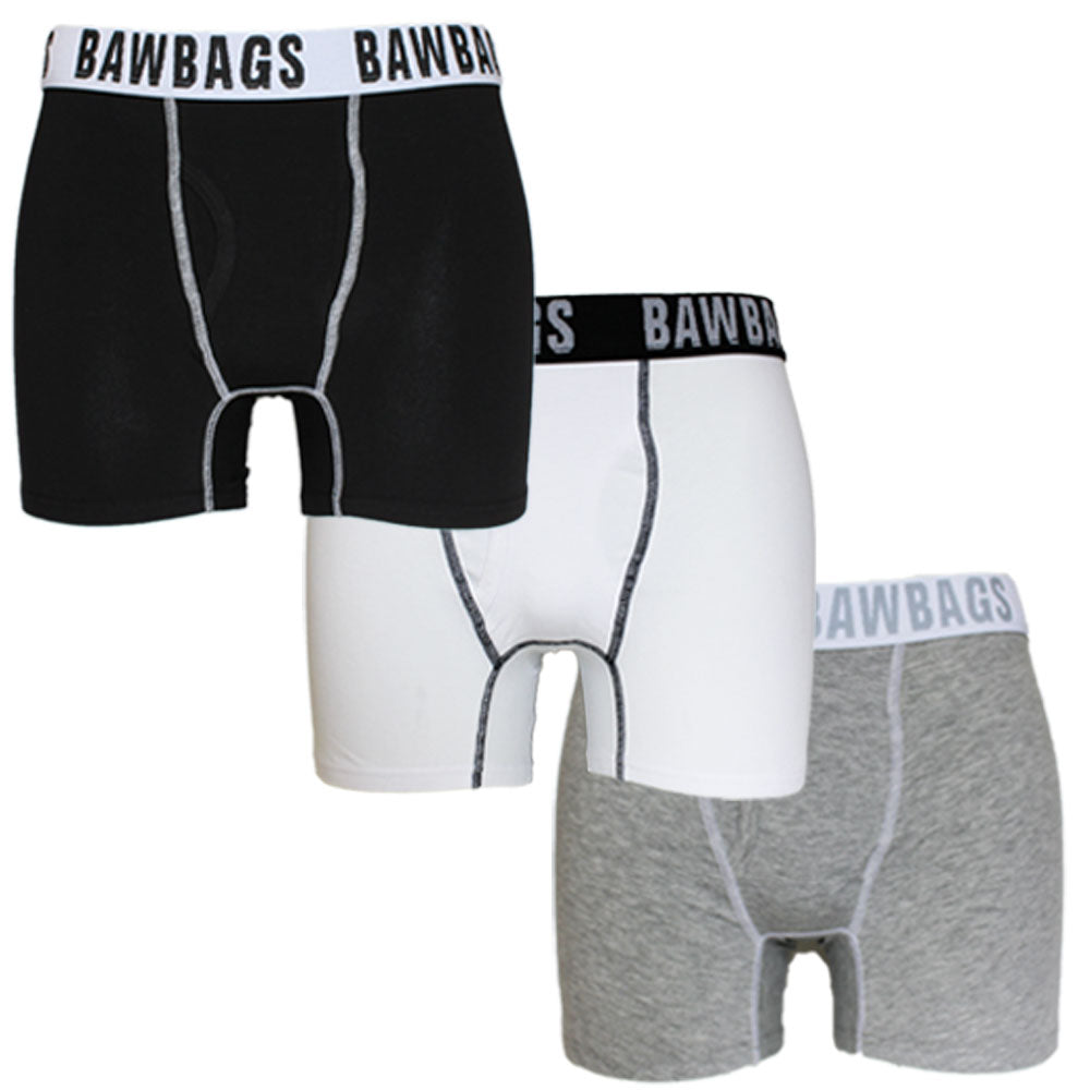 Classic 3-Pack Boxer Shorts - Bawbags
