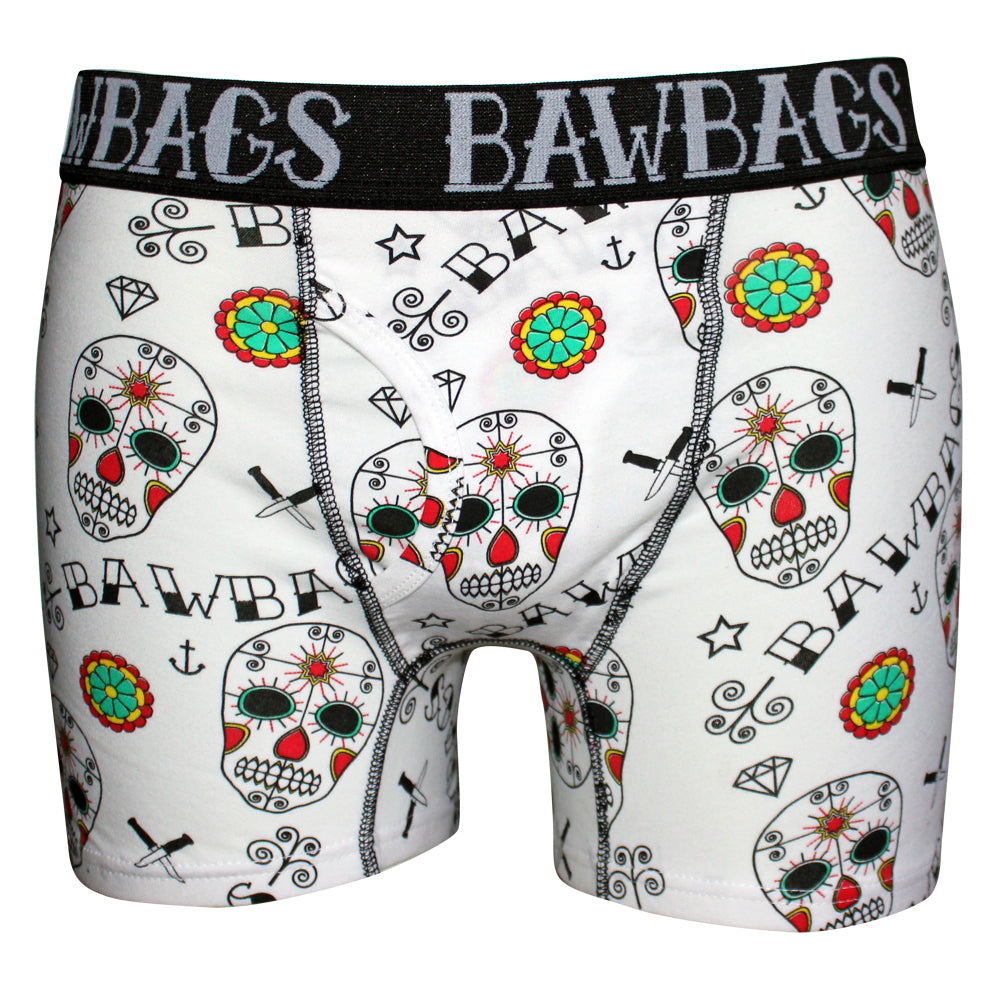 Day Of The Dead Boxer Shorts - Bawbags