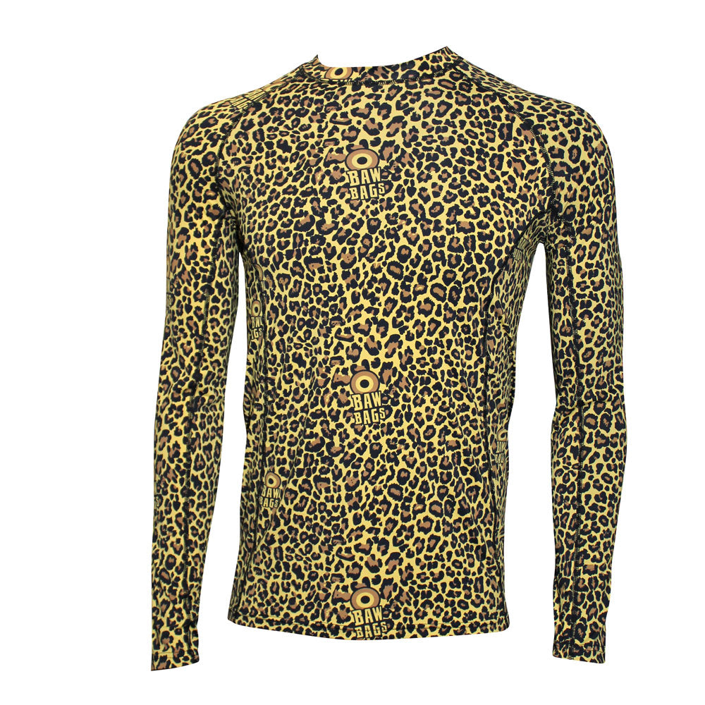 Leopard Base Layer Top - Bawbags
