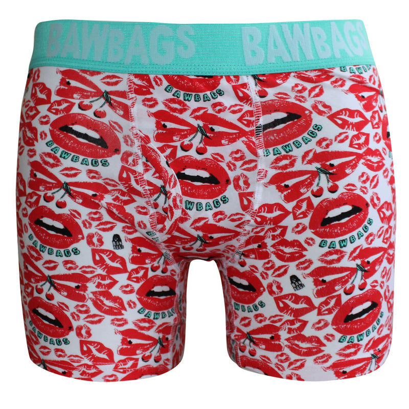 Lips Boxer Shorts - Bawbags