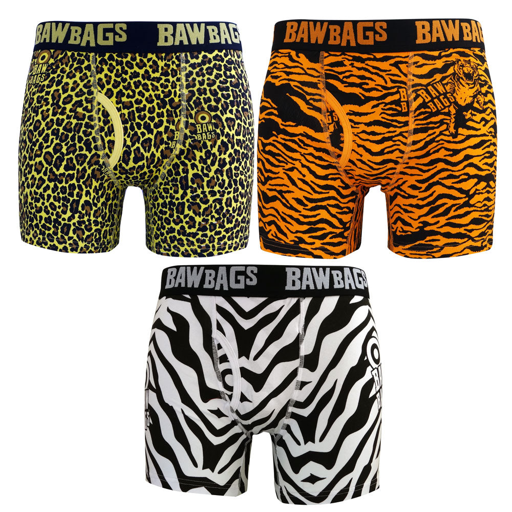 Safari 3-Pack Boxer Shorts - Bawbags