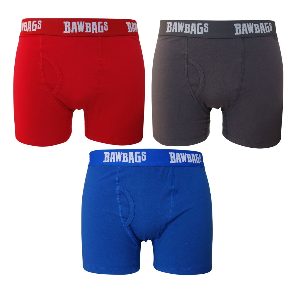 Colour Block 3-Pack Boxer Shorts - Bawbags