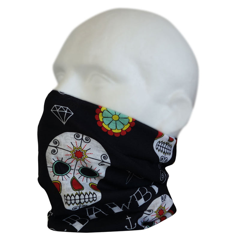 Day Of The Dead  Multi Sleeve Snood