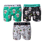 Day Of The Dead 3-Pack Boxer Shorts - Bawbags