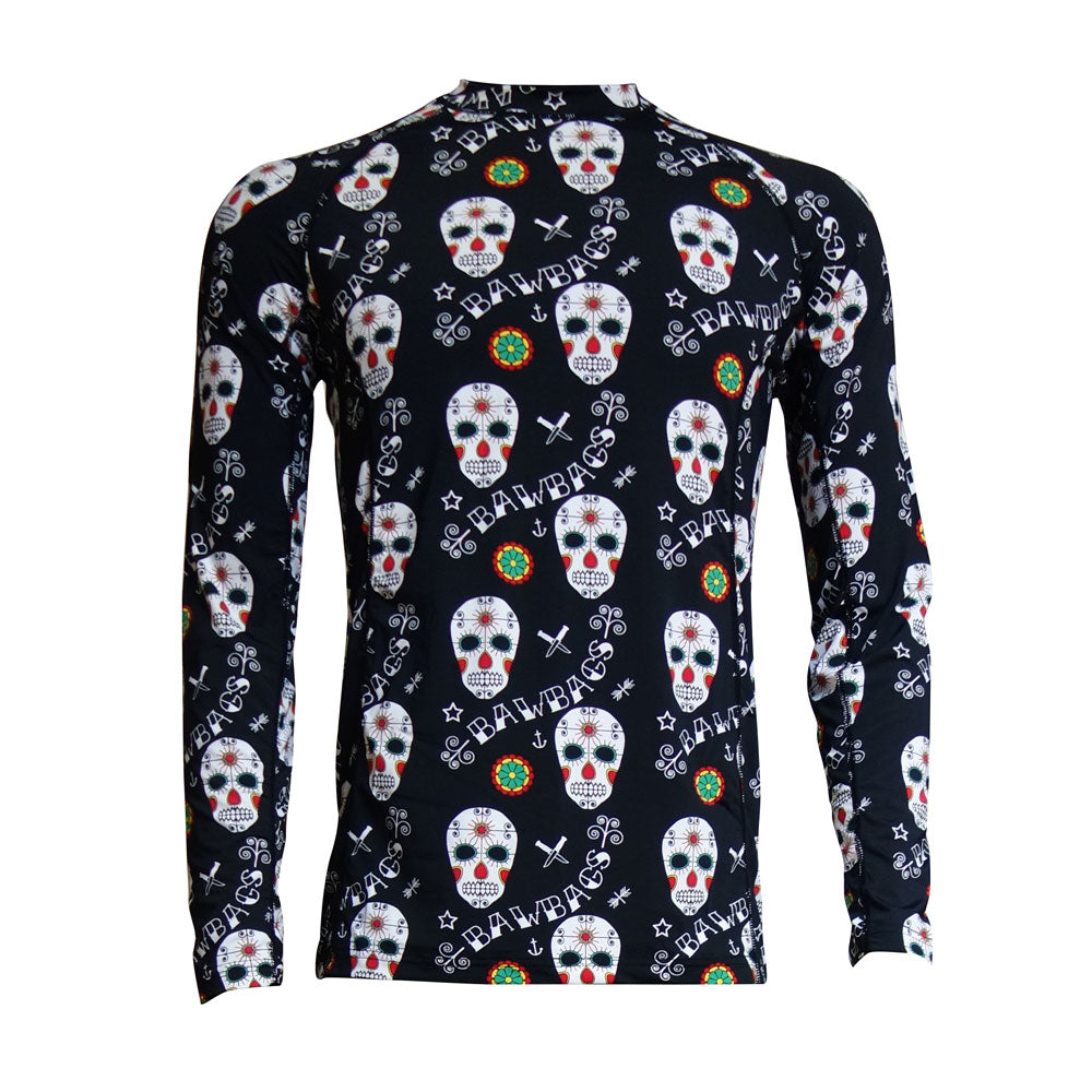 Day Of The Dead Base Layer Top - Bawbags
