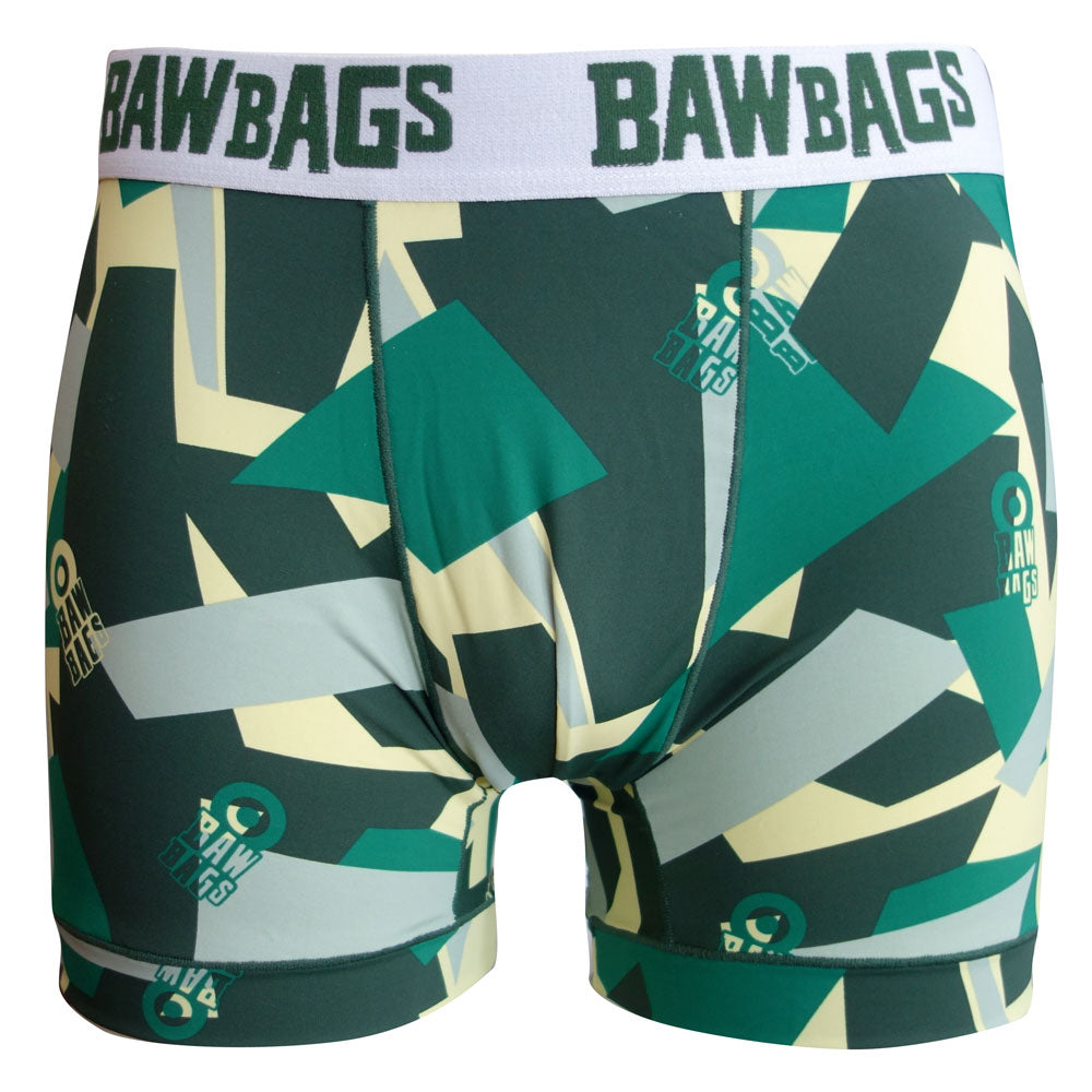 Cool De Sacs Camo Green Boxer Shorts - Bawbags