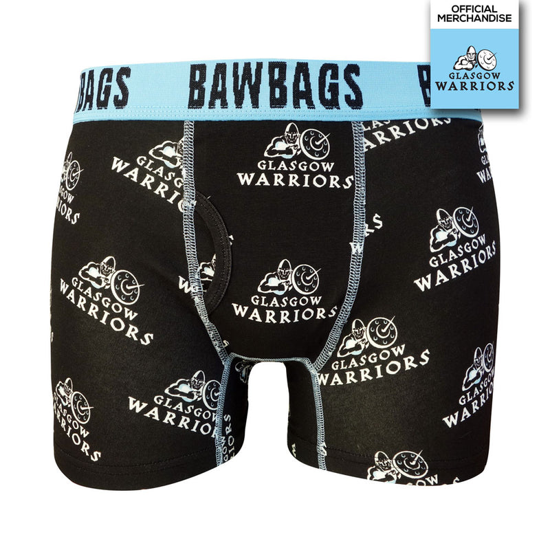 Glasgow Warriors Badge Cotton Boxer Shorts