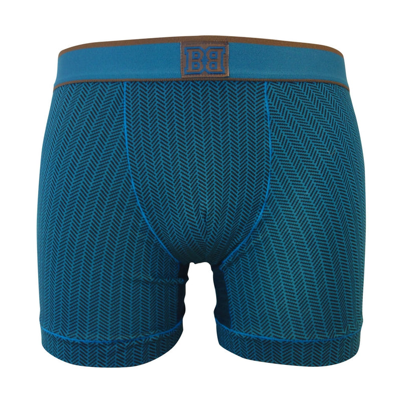 V.I.B. Herringbone Boxer Shorts - Bawbags