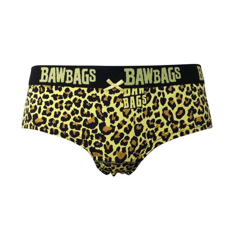 Women's Cool De Sacs Leopard Underwear - Bawbags