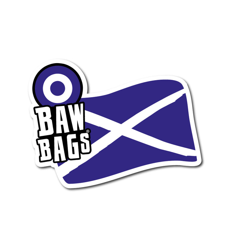 Scotland Sticker - Bawbags