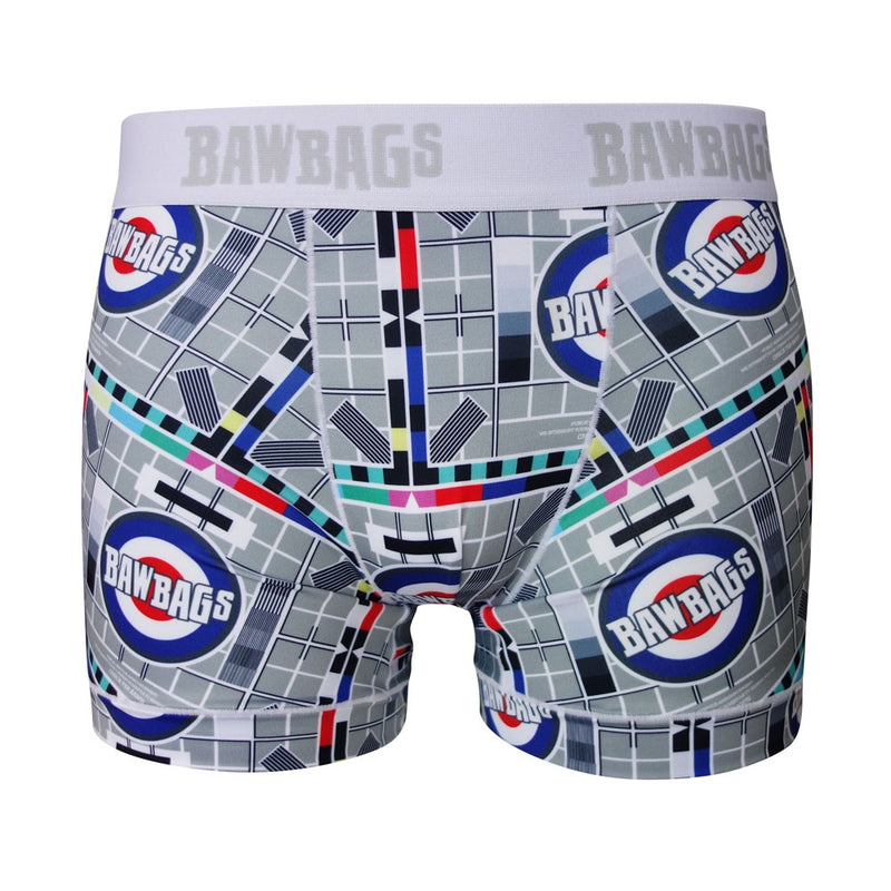 Cool De Sacs Test Card Boxer Shorts - Bawbags
