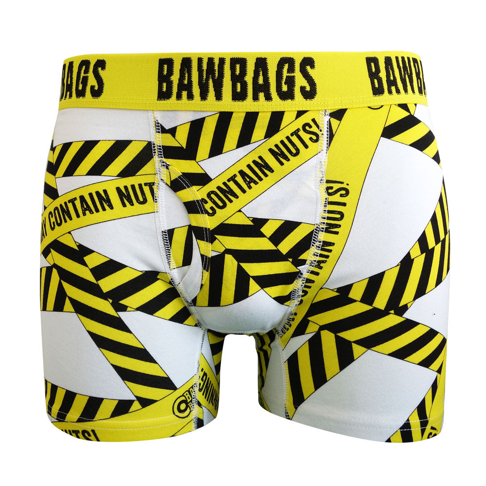 Warning Boxer Shorts - Bawbags