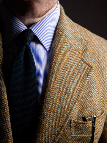 Beg Your Pardon Knitted Tie Mens Tailored Suits SamTalksStyle