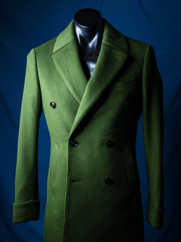 Beg Your Pardon Polo Coat Made to Measure Adelaide Tailoring