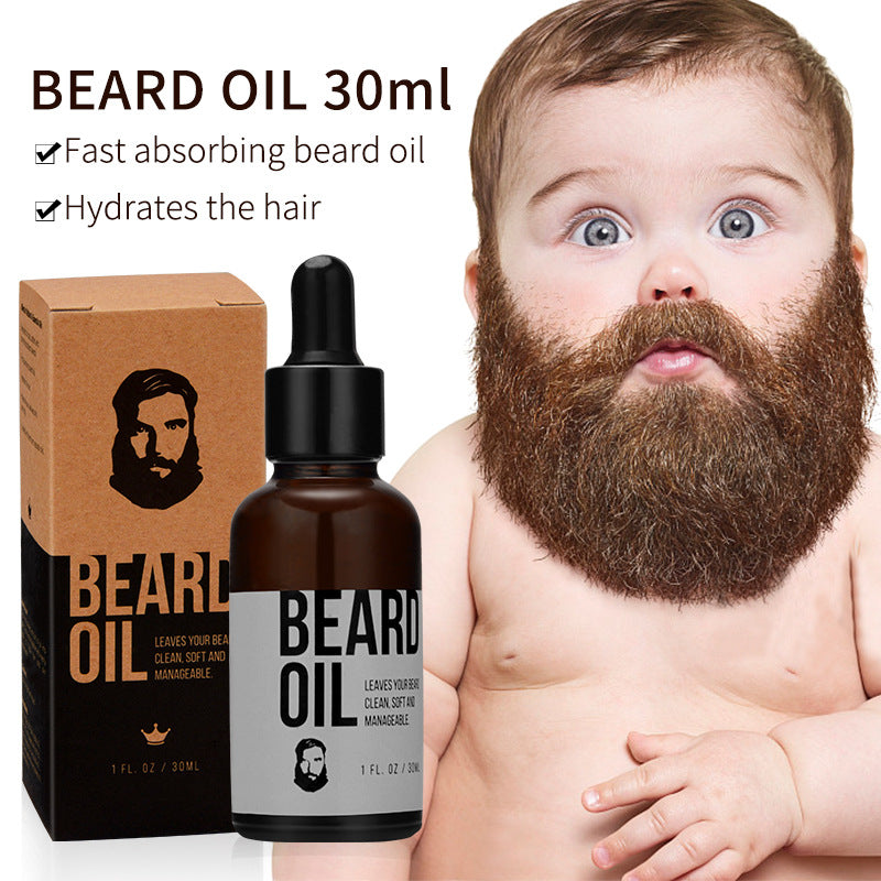 Men face care to improve the rash, nourish and bright beard.