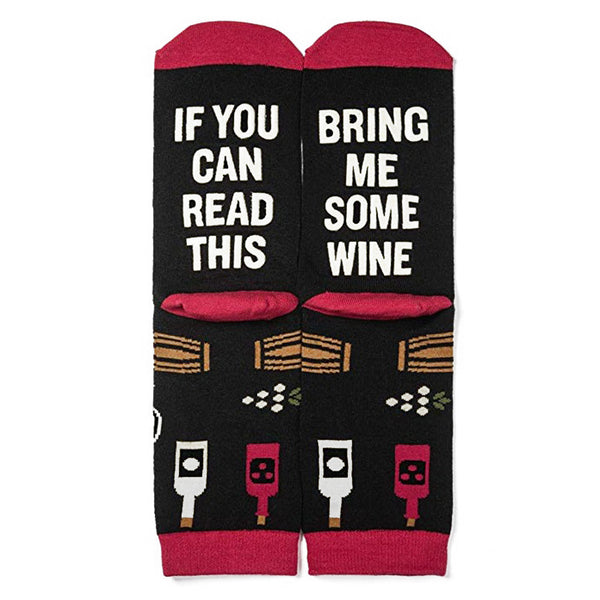 IF YOU Can Read This Valentine's Day socks