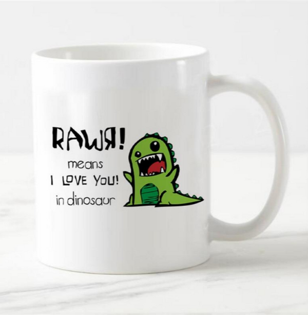 Color changing dinosaur cup