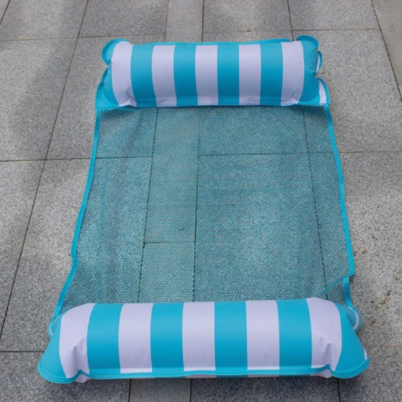 Inflatable Striped Water Hammock