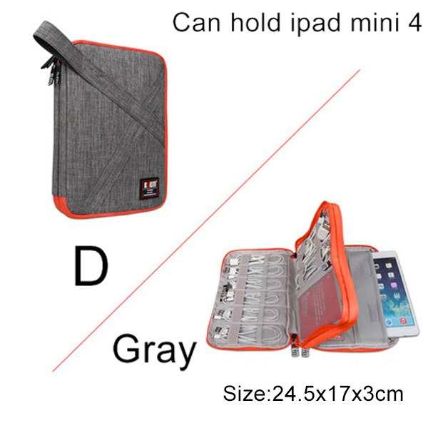 Stylish Universal Cable Travel Organiser