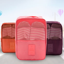 Travel storage bag shoe storage bag