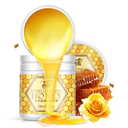 Milk honey Whitening Nourish hand wax skin care moisturizing hydrating remove aged horn paraffin bath hand cream