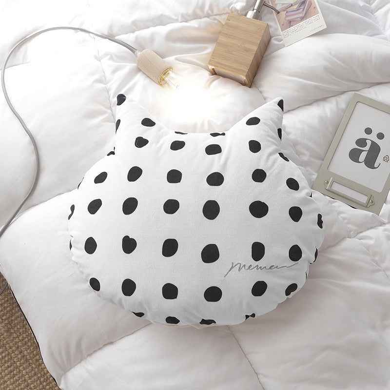 Cat Shaped Throw Cushions