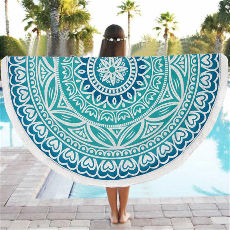 Vibrant Pattern Beach Blanket