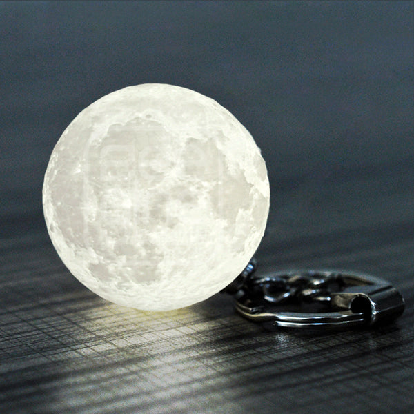 Moon Lamp Keychain