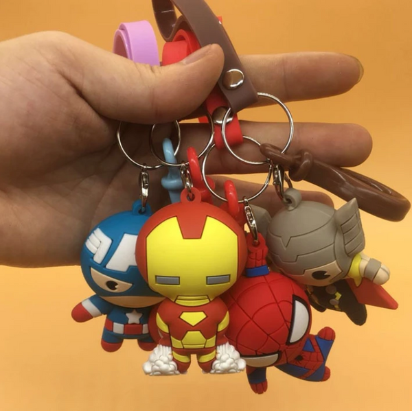 Cartoon Epoxy Keychain
