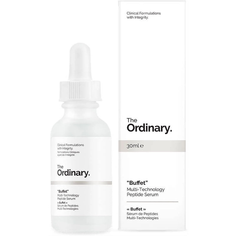 The Ordinary Buffet Multi-Technology Peptide Serum 30ml (30ml)