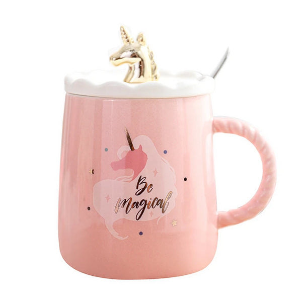 Pretty In Pink Magic Unicorn Mug