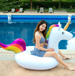 Magical Unicorn Inflatable Float