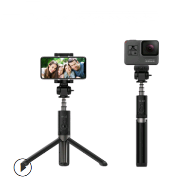 Mobile phone selfie stick Bluetooth tripod selfie stick bracket Bluetooth with remote control aluminum alloy telescopic rod selfie stick