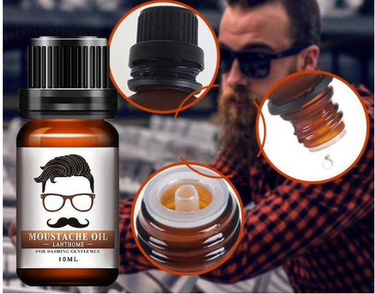 10ml Men's Facial Treatment Improves Buttercups, Mustaches, Eyelashes, Beard, Nourishment
