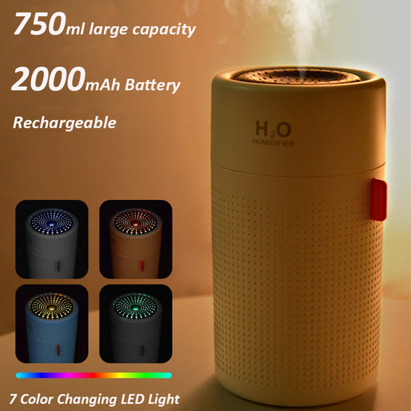 Rechargeable usb humidifier