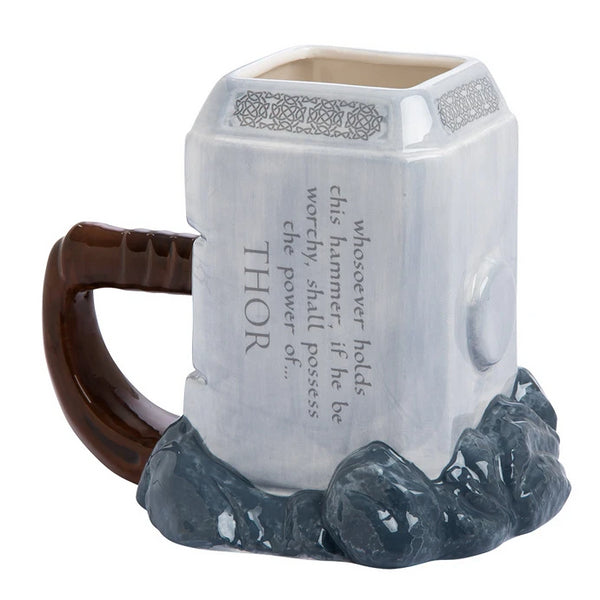 Quake Mug Cup Large-capacity Anime Cup Ceramic Cup Hammer Cup