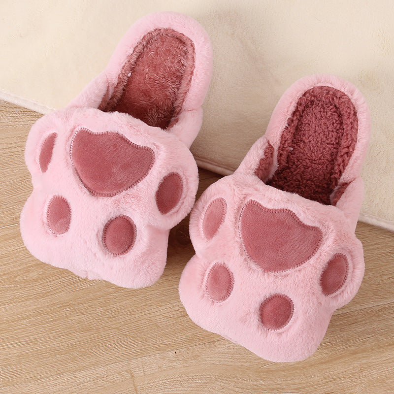 Kitty Paws Scuff Slippers