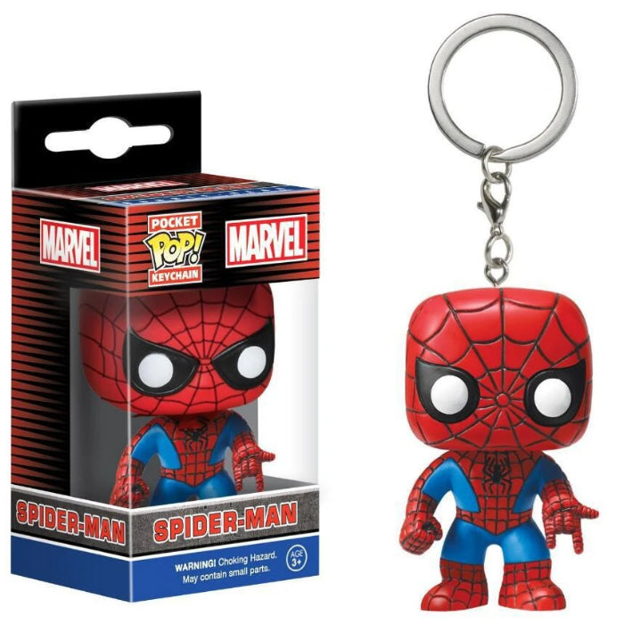 Pocket Pop Heroes Series Key Rings
