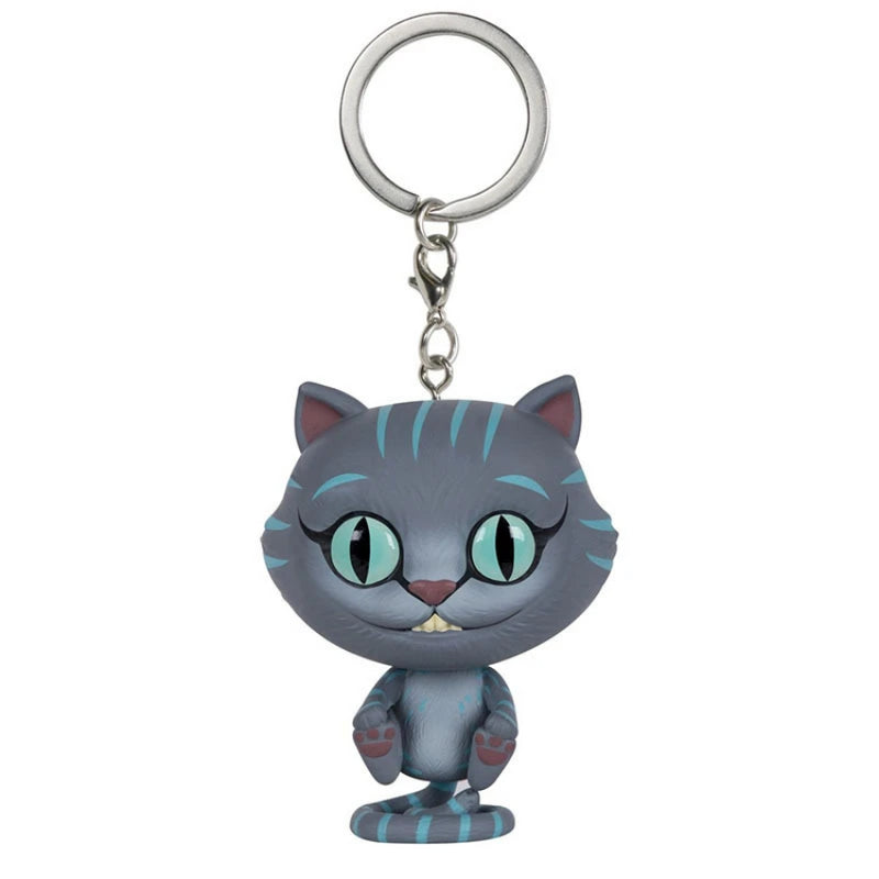 Cheshire Cat Keychain